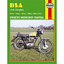 BSA UNIT SINGLES 1958-1972 WORKSHOP MANUAL