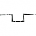 "LA CHOPPERS 7/8"" NARROW Z-BARS 6"" TALL CHROME UNIVERSAL"