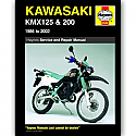Kawasaki KMX125, KMX200 (86-02) WORKSHOP MANUAL