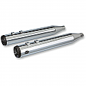 H/D FLT, FLHT, FLTR, FLHR MUFFLERS GRAND NATIONAL SLIP-ON CHROME