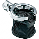 "KURYAKYN UNIVERSAL DRINK HOLDER 1.25"" WITH BASKET"