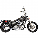 H/D FXD, FXDWG EXHAUST ROAD RAGE II B1 POWER 2-INTO-1 CHROME