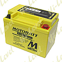 MOTOBATT BATTERY MBTX4U FULLY SEALED CT4L-BS, CB4L-B, CB4L-A (10)