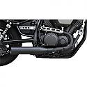 YAMAHA XV950, XV950 ABS, XV950R ABS, XV950 ABS RACER, XVS950C BOLT, XVS950C BOLT R-SPEC 2014-2016 BARON MUFFLER SLASH BLACK