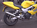 HONDA VTR1000 FIRESTORM (SC36) ROAD LEGAL SILENCERS (PAIR) WITH RB