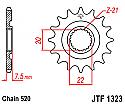 1323-13 FRONT SPROCKET CARBON STEEL