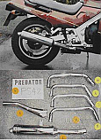 SUZUKI GSX1100 FJ,FK,FL,FM,FN,FR (GV72A) 1987-1996 ALL MODELS 4-1 EXHAUST SYSTEM ROAD LEGAL