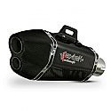 XP13C CARBON FIBRE HEXAGONAL EXHAUST SILENCER 51MM INLET