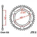 6-41 REAR SPROCKET CARBON STEEL