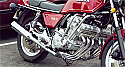 HONDA CBX1000 PRO-LINK 6-2 SYSTEM ROAD REMOVABLE BAFFLE IN BRUSHED STAINLESS