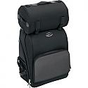 SADDLEMEN SISSY BAR BAG DELUXE TEXTILE BLACK - S2600