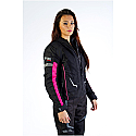 JESSIE LADIES JACKET BLACK/PINK
