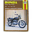 HONDA CB500, HONDA CB450 TWINS WORKSHOP MANUAL