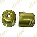 SUZUKI RGV250, SUZUKI GSX-R750L, SUZUKI GSX-R750M BAR END COVER GOLD