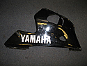 YAMAHA YZF - R6 (5EB) 1999-02 R/H FARING LOWER BLACK second hand