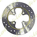DISC FRONT/REAR FLAT 4 BOLT HOLES 10MM, 80MM