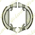 DRUM BRAKE SHOES H322 80MM x 18MM (PAIR)