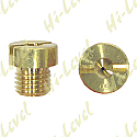 BRASS JET DELLORTO LARGE 70 (8MM HEAD SIZE, 6MM THREAD, 0.8MM PITCH)