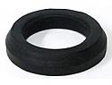 Head light bracket lower mounting rubber