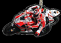 Nicky Hayden #69 / Ducati Team KEY RING