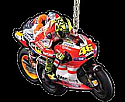 "Valentino Rossi # 46 ""Tuck� / Ducati Team KEY RING"
