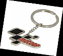 Premium metal fob with injection colour logo MOTOGP KEY RING
