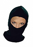 BALACLAVA THERMAL COTTON BLACK 180G