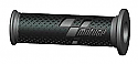 MOTO GP BLACK/GRAY COMPETITION BAR GRIPS (PAIR)