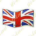 ENGLAND FLAG STICKER 75MM x 115MM