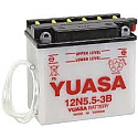 MOTORCYCLE BATTERY 12N5.5-3B BUDGET 12V
