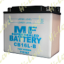 BATTERY CB16L-B, 12N16-3B (L: 175MM x H: 155MM x W: 100MM)