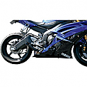 YAMAHA YZF-R6 600, YAMAHA YZF-R6 600S, YAMAHA YZF-R6 600SP 50TH ANNIVERSARY LIMITED EDITION 2006-2011 JARDINE SLIP-ON EXHAUST GP-1, BLACK
