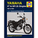 YAMAHA XT125, YAMAHA SR125 1982-2003 WORKSHOP MANUAL