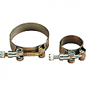 """SUPERTRAPP T-BOLT CLAMP Ø 1.50"""" (38,1mm) STAINLESS STEEL"""