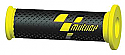 MOTO GP YELLOW/BLACK COMPETITION BAR GRIPS (PAIR)