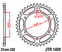 1490-42 REAR SPROCKET CARBON STEEL