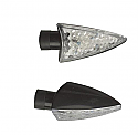 UNIVERSAL LED 400 ARROW INDICATOR SET PAIR IN BLACK OR CARBON