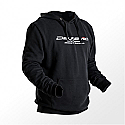 DELKEVIC Black Hoody