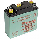 MOTORCYCLE BATTERY B39-6 BUDGET 6V