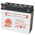 MOTORCYCLE BATTERY 12N5.5-4B BUDGET 12V