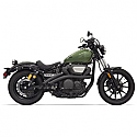 YAMAHA XVS950C BOLT, YAMAHA XVS950C BOLT R-SPEC 2014-2016 RADIUS SWEEPERS BLACK EXHAUST