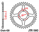 1843-49 REAR SPROCKET CARBON STEEL