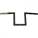 "LA CHOPPERS 20,32 CM (8"") HANDLEBAR NARROW Z / BLACK-FLAT"