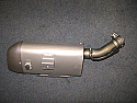YAMAHA YZF-R1 2009-11 R/H TITANIUM SILENCER GENUINE NEW