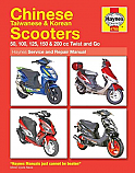 Chinese Scooter, Korean Scooter and Taiwanese Scooter, Service & Repair Manual, Item code:H4768