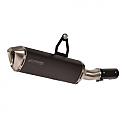 BMW R1200GS ABS, BMW R1200GS ABS ADVENTURE 2013-2016 FORCE SLIP-ON MUFFLER DARK STYLE (S/S
