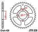 838-43 REAR SPROCKET CARBON STEEL