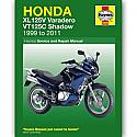 HONDA XL125V, HONDA VT125C 1999-2011 WORKSHOP MANUAL