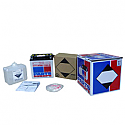 HONDA GB500 CLUBMAN, CB350S, CB450S, VFR700F INTERCEPTOR, VFR750F, XBR500, XL600V TRANSALP 1985-2000 BATTERY HEAVY DUTY 12V 12 AH 150A 3.1 KG 134.94 MM X 80.96 MM X 160.34 MM WHITE (YB12A-B)