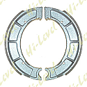 DRUM BRAKE SHOES VB220, Y511, Y528 160MM x 25MM (PAIR)